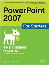 PowerPoint 2007 for Starters: The Missing Manual-ExLibrary