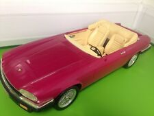 RARE VINTAGE BARBIE DOLL JAGUAR CAR XJS 1991 Pink - Project