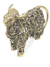 TRIBAL FORMATION COW ANCIENT HANDMADE TRIBAL ART