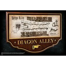 Harry Potter Diagon Alley Wooden Wall Sign