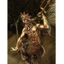 Poseidon Neptune Statue Greek Sea God Roman Figurine Magnificent Scupture Cast
