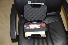 Glock Factory Pistol Case With Manual, Cleaning Rod, Brush, Lock,