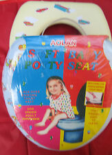 LOT 2 NEW Soft Baby Infant potty traning Toilet Seat soft padded Support