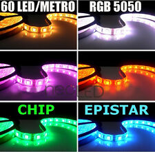 Striscia LED Strip RGB bobina 5m smd 5050 300 LED Chip EPISTAR Alta Luminosità!