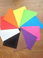 A4 Funky  Foam Sheets - 9 x 12 - choice of 10 colours - Craft uses NEW
