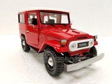 MOTOR MAX 1:24 DISPLAY TOYOTA FJ40 Diecast Car Model 74323D Red