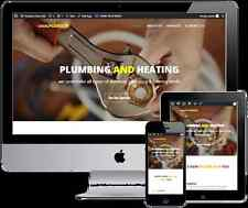 Plumbers 5 Page Business Website