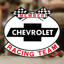 Chevrolet Racing Team sticker decal chevy old school hot rod 4.25""