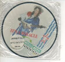 CULTURE CLUB 45 RPM Picture Disc Record IT'S A MIRACLE / LOVE TWIST Sealed MINT!