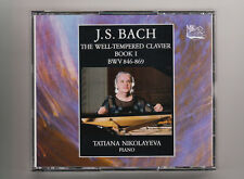 (CD) Bach:Well-Tempered Clavier Bk 1/2CD/Tatiana Nikolayeva/Mezhdunarodnaya Knig