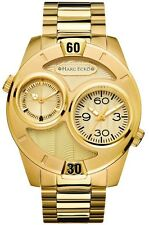 Marc Ecko Men's The Maestro Multifunction Gold Dial Watch E122596G1 USED ONCE!