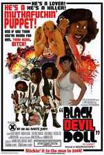 Black Devil Doll Poster 01 A3 Box Canvas Print