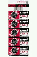 5 PCS NEW CR2032 MAXELL BATTERY - (FREE SHIPPING WORLDWIDE)   EXP. DATE: 12-2022