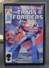 Transformers #1 Comic Book - Fridge Magnet. Optimus Prime