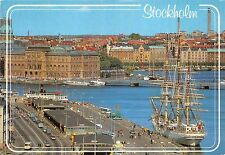 BR4964 Nybro Bay in the Background ship bateaux Stockholm  sweden