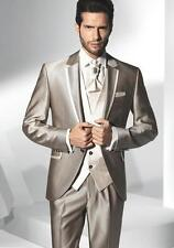 2016 Fashion Mens Wedding Suits Groom Tuxedos Formal Business Suit Best Man Suit