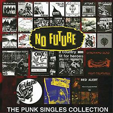 NO FUTURE The Punk Singles Collection LIMITED EDITION RED VINYL 2LP