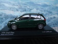 1/43   Minichamps  VW golf plus 2004 1 of 1008