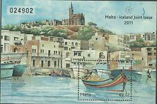 Malta 2011 - Architecture City Ship Boat Lanscape Church Painting - Sc 1438 MNH