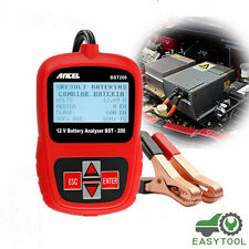 Portable 12V Car Battery Load Tester Battery Analyzer Lead Acid AGM GEL BST200