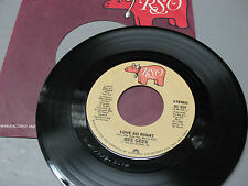 BEE  GEES  LOVE  SO  RIGHT -YOU STEPPED  INTO MY LIFE  SRO  1976 EX