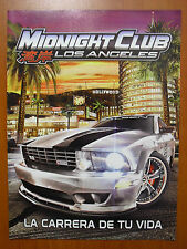 Midnight Club: Los Angeles SUPLEMENTO ESPECIAL PSP PS3 XBOX 360 historia, origen