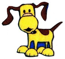 "1.5"" BOB THE BUILDER SCRUFTY DOG  FABRIC APPLIQUE IRON ON CHARACTER"