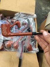 Calabresi Spot Carved Canadian Pipe