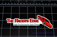 THE RACER'S EDGE Fast and Furious movie logo decal sticker auto parts Vin Diesel