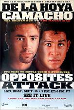 Original Vintage Oscar De La Hoya vs. Hector Camacho Boxing Fight Poster