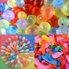 500 Stk Wasserbomben Luftballon Wasserballon Bunt Wasser Ballon Kinder Spielzeug