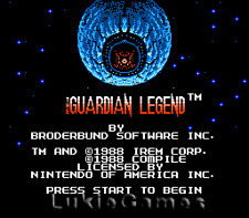 The Guardian Legend - NES Nintendo Game