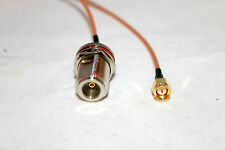 """8"""" SMA Male to N Female Bulkhead RG316 Cable Pigtail; US Stock"""