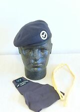 British-Issue Air Training Corps Beret, Badge, Lanyard & Brassard. 54cm. ATC..
