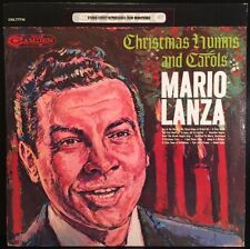 Mario Lanza - Christmas Hymns And Carols - VG+ Vinyl LP