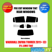 VAUXHALL ZAFIRA TOURER 2011+ (C) 5% LIMO REAR PRE CUT WINDOW TINT