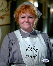 Lesley Nicol SIGNED 8x10 Photo Mrs. Patmore Downton Abbey PSA/DNA AUTOGRAPHED