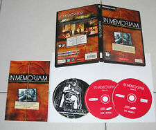 Gioco Pc Cd IN MEMORIAM Ubi Soft 2003 OTTIMO ITA Thriller 3 Cd Rom