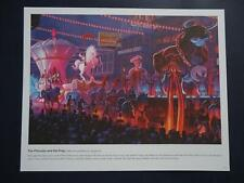 Disney THE PRINCESS & THE FROG - 9x11 Passholder PRINT Lithograph