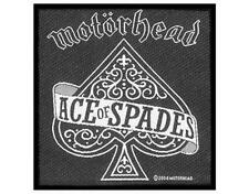 OFFICIAL LICENSED - MOTORHEAD - ACE OF SPADES SEW ON PATCH METAL LEMMY