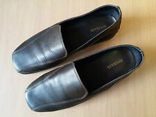 Damen Schuhe Loafers Slipper AEROSOLES Gr 38,5 braun Leder Top