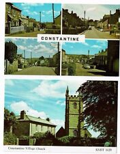 CORNISH POST CARDS COLOR PHOTOS OF CONSTANTINE