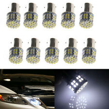 10x 1156 BA15S 382 P21W White 50 SMD LED Tail Brake Turn Signal Light Bulbs 12V