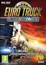 Euro Truck Simulator 2 GOLD PC with more than 70 European cities Brand New