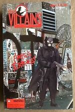 21st Century Toys 1/6 12-inch The VILLAINS ARMED TERRORIST Black Trench Coat Hot