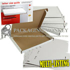 WHITE ROYAL MAIL LARGE LETTER PIP CARDBOARD POSTAL BOXES C4 C5 C6 *HIGH QUALITY*