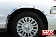 FTFD207 - 03-11 Ford Crown Victoria Mercury Grand Marquis Stainless Fender Trim