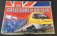 The Great Game of Britain Vintage 1981 Board Game trains railroad railway UK