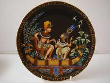 BRADEX OSIRIS LEGEND OF TUTANKHAMUN  TUTANKHAMUN AND HIS PRINCESS PLATE
