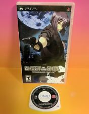 Ghost in the Shell Stand Alone Complex (Sony PSP, 2005) Rare with Case